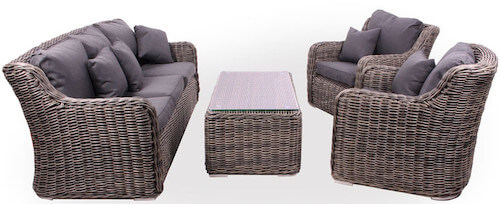 New York luksus loungesæt vedligeholdsfrit i den bedste kvalitet