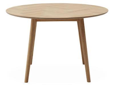 Richmond rundt 2 personers spisebord med sildebensmønster