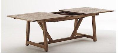 Sika design langbord med udtræk i eksklusiv kvalitet og design