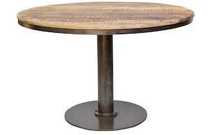 Trademark Living rundt genbrugstræ spisebord i stilfuld form