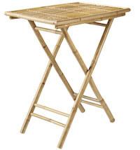 Living & More Danang bambus bakkebord i enkelt design