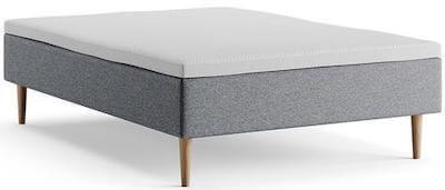Lyngdal box 140x200 prisvenlig seng med 5 komfortzoner og dobbeltfjedre