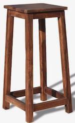 Obuzi Stuka barstol fremstillet i massivt rosentræ