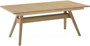 Skovby Nordic SM11 egetræsbord med smart butterfly udtræk