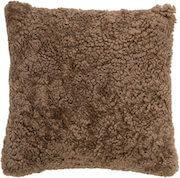 Bloomingville brun fåreskind pude i lækker kvalitet
