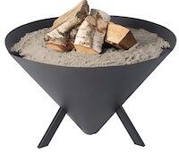 Bon-Fire Cone populær bålfad med 3 ben