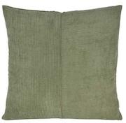 Grøn fløjl sofapude i blødt materiale