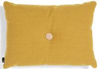HAY Dot Cushion gylden gul dekorationspude