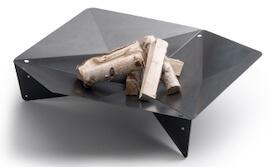 Höfats Triple 120 bålfad der kan forvandles til en grill