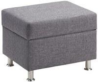 My Chair grå fodskammel med opbevaring