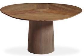 Skovby SM33 rundt spisebord i valnød