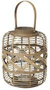 Cross bambus lanterne fra Broste Copenhagen