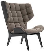 NOR11 Mammoth velour loungestol som findes i flere farver