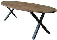 WAL-240 elipseformet spisebord