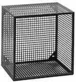 Wire Box fra Nordal som væghylde og sengebord