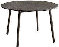 AMIRA billigt rundt spisebord på 120 cm udført i gummitræ