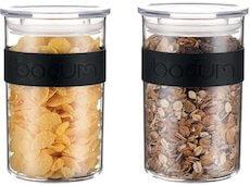 Bodum Presso opbevaringssæt af 2 stk på 0,6 liter