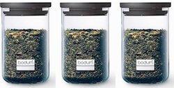 Bodum Yohki opbevaringsglas med låg 3 stk. på 0,6 L