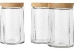 Rosendahl Grand Cru opbevaringsglas med egetræslåg