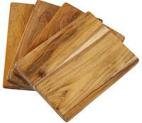 Sinnerup Auri Akacia 4 klassiske skærebrætter i god kvalitet