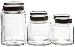 Sinnerup opbevaringsglas med låg pakke med 6 stk.